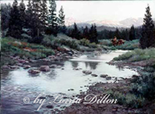 Lorna Dillon's Hope Valley Carson Creek